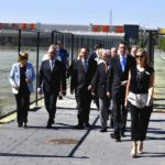 Dignitries off to Founders' Assembly