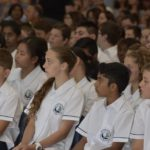 Students in Founders' Assembly