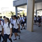 Students off to meet the teachers 2