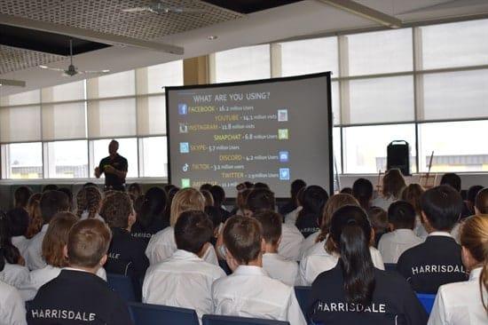 Online Safety Presentation to HSHS students